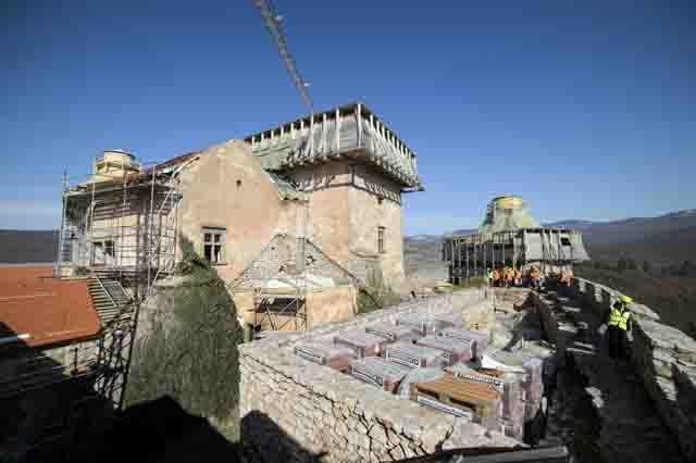 2018-ra várják a krasznahorkai vár felújításának befejeződését