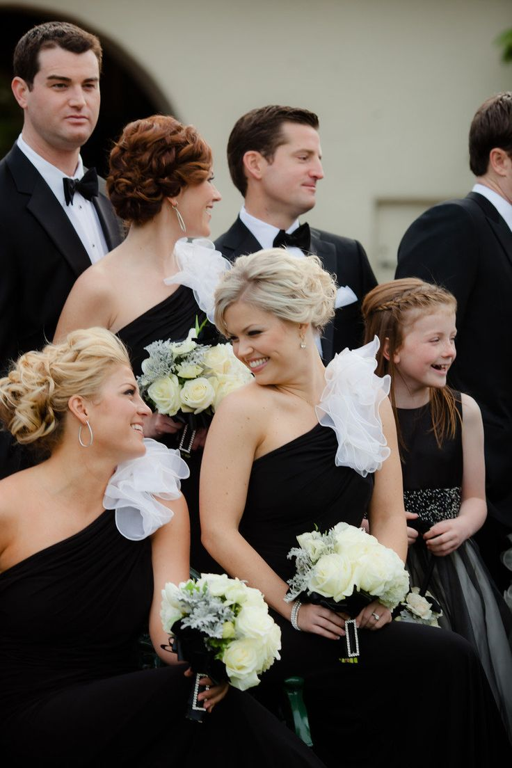 130 best wedding bridesmaid dresses images on pinterest wedding new years wedding by the youngrens imaginedings and special events black bridesmaidsbridesmaid ombrellifo Image collections