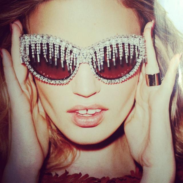 Diamanté Sunglasses