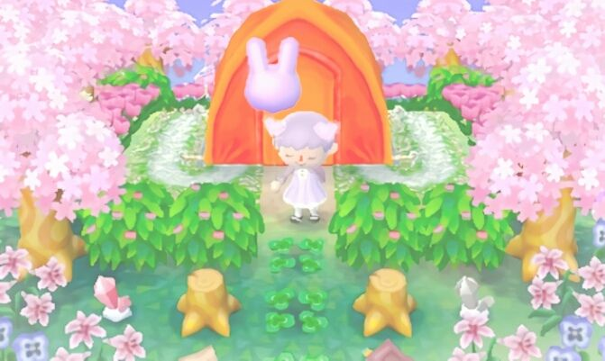 Jordancrossing campsite acnl pinterest coins for Modern house acnl