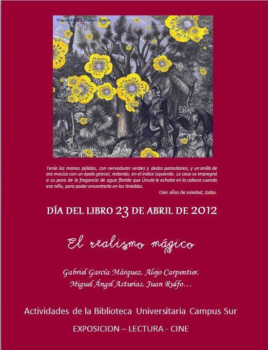 Día del Libro 2012 | Dedicado al Realismo mágico |