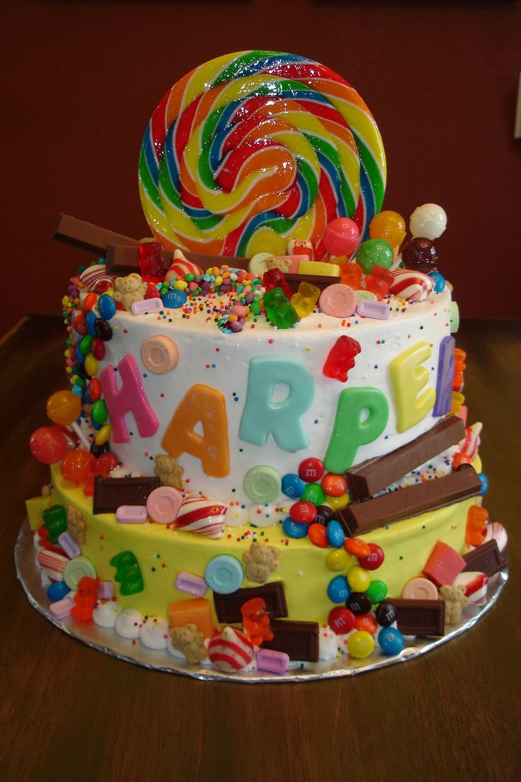 33 best images about candy cakes on pinterest birthday for Another word for food decoration