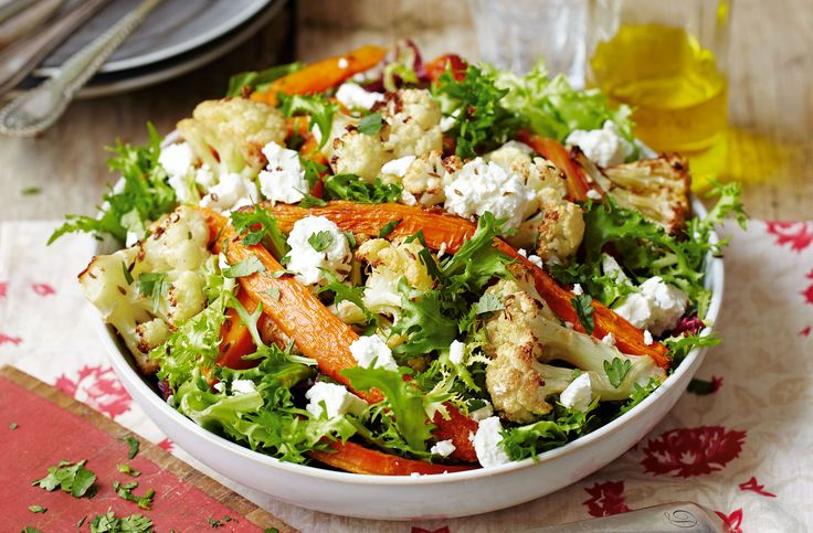 This delicious salad makes a great midweek meal, packed with delicious veg and lightly spiced with cumin. | Tesco