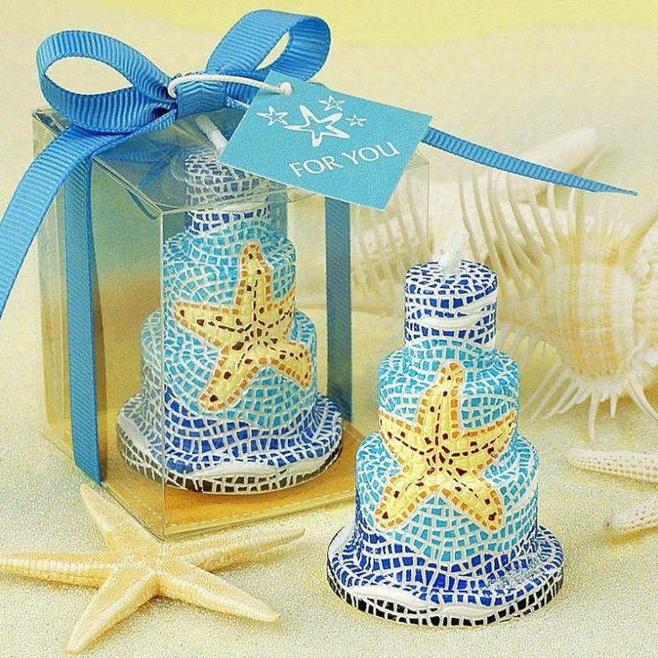 Свадьбы пользу ручной бездымного синий звезды торт искусства свечи для свадьбы день рождения маленькие свечи
