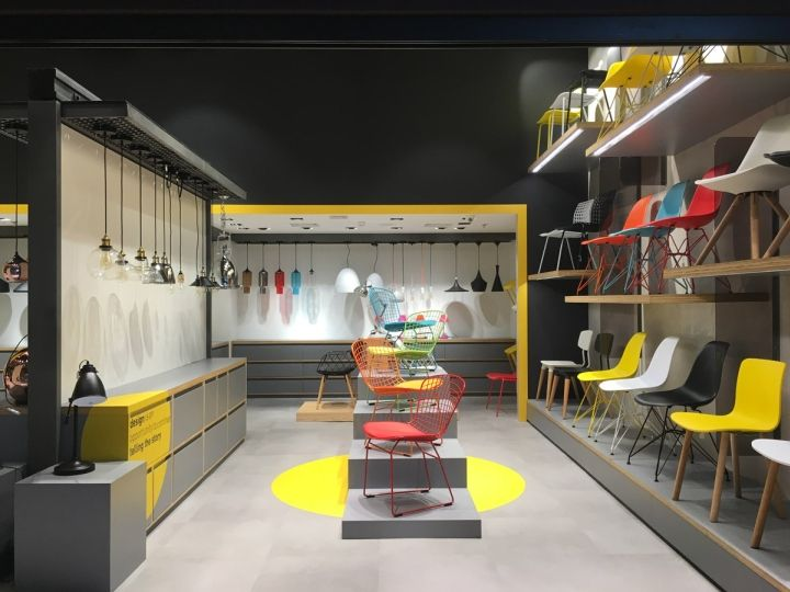 spot furniture lighting store by fal design estratgico so paulo brazil