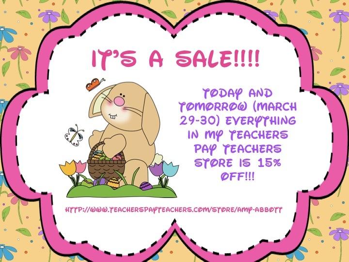 Music a la Abbott: Spring Break & Easter Sale