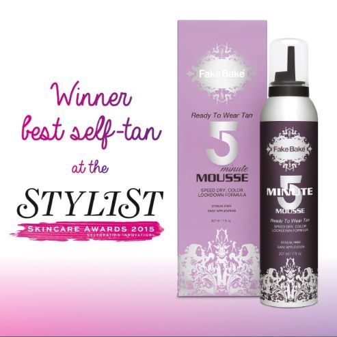 We do love an award here at Team Fake Bake and it is an honour to receive Best Self Tan gong at the Stylist Skincare Awards. We are still celebrating this one, and our 5 Minute Mousse is turning into a cult classic.