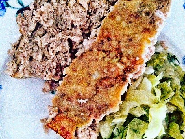 martaprobuje.blogspot.com Pieczeń z mielonego mięsa - low carb LCHF http://ift.tt/2tJiH1W