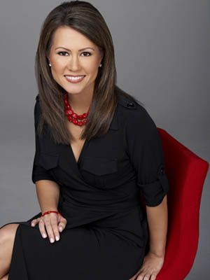CNN's Betty Nguyen, the first Vietnamese American to anchor a national television news broadcast in the US. What an amazing role model!