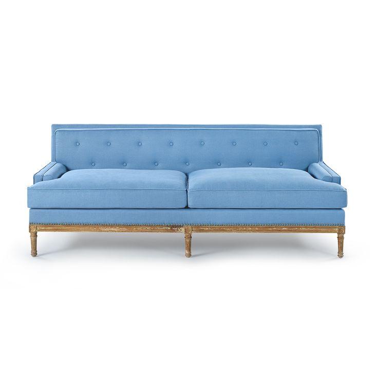 Davis Sofa - Blue, Blue - Bungalow 5