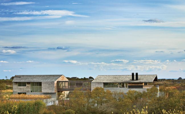 If I was ever Self absorbed and into ridiculously oversized living spaces then I would have to say this would be my house.   Genius Loci, Bates Masi Architects  Montauk, Long Island, New York
