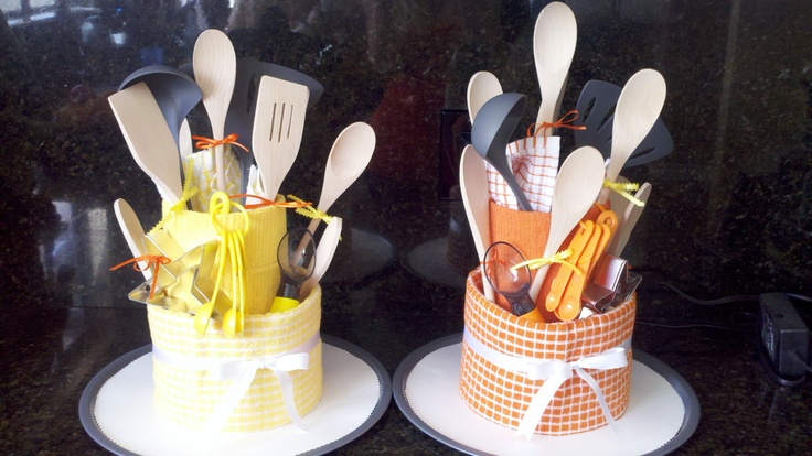 Kitchen Bridal Shower Gift Ideas : cute kitchen gadget tower/cake for bridal shower gift gift ideas ...