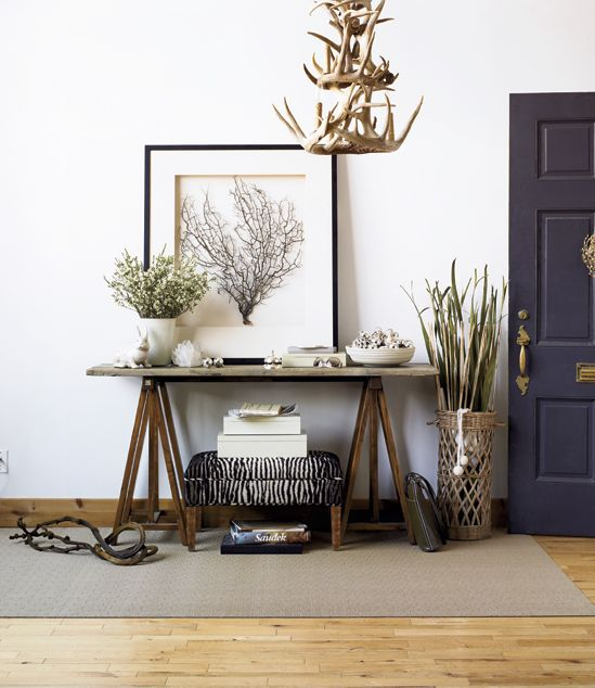 How to: Create a wonderful winter foyer - Style At Home