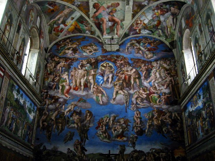 Sistine Chapel (Cappella Sistina) is the best-known chapel in the Apostolic Palace, the official residence of the Pope in the Vatican City. Michelangelo Buonarroti's frescoes.