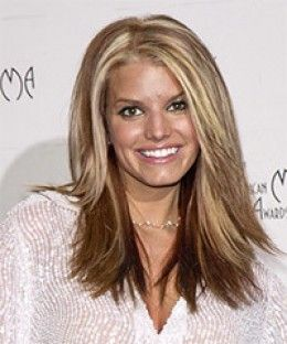 38 best hair colors images on pinterest beautiful clothing and jessica simpson in two tone straight brown and blonde hair love the color pmusecretfo Images