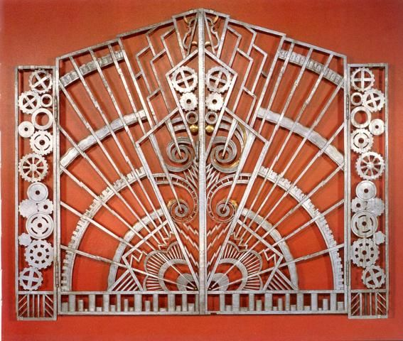 180 best art deco metal work images on pinterest art for International decor gates
