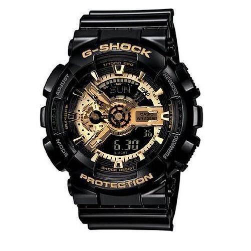 Casio Auth Men's Watch GA110GB-1A G-Shock Anti-Magnetic Gold military WW2 L/d JP #Casio #Military