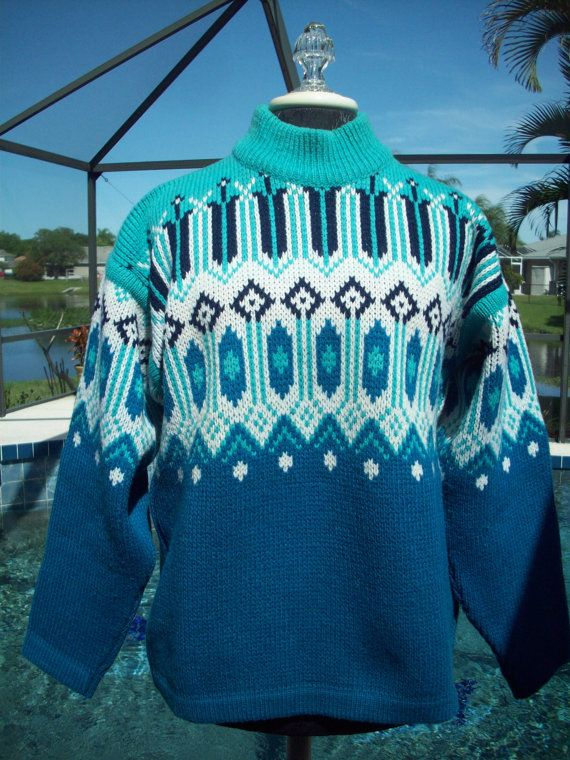 Nordic Sweater by Nesjar by TheChucklePatch on Etsy