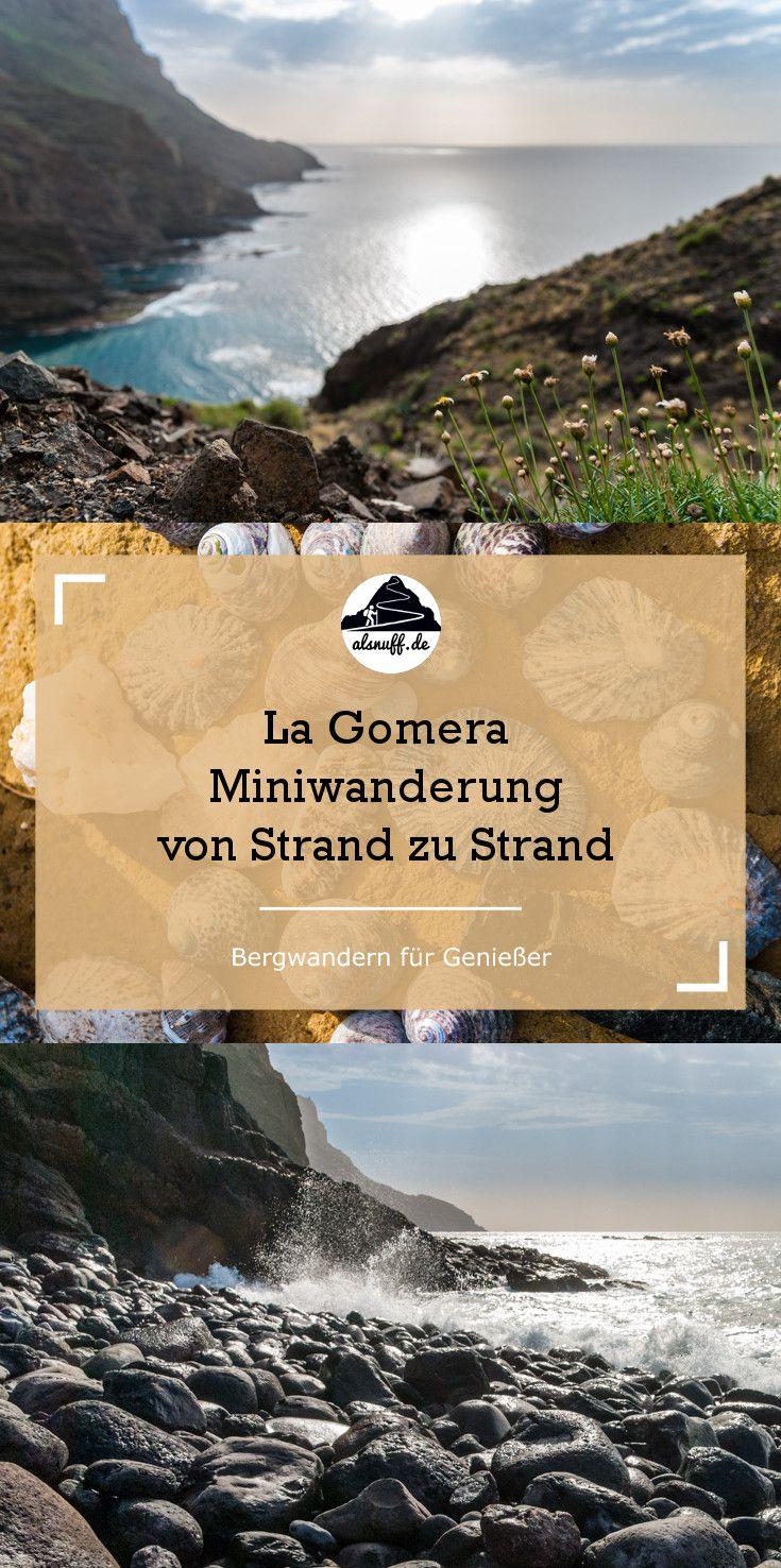 Küstenwanderung auf La Gomera #reisen #outdoor #hiking #wanderlust