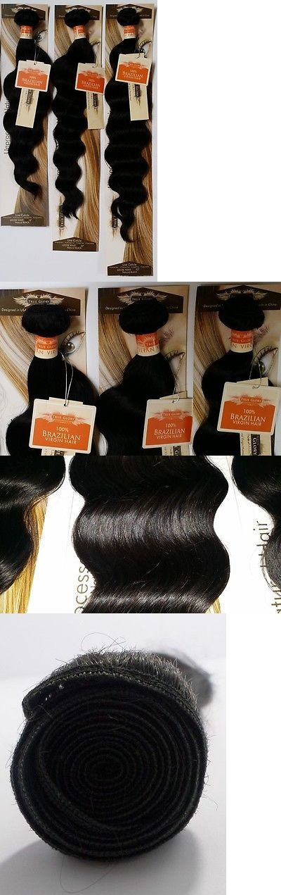 Other Hair Care and Styling: True Glory Hair- Brazilian Virgin Human Hair Aaaa Nwt Loose Wave: 3 Bundle Deal -> BUY IT NOW ONLY: $155 on eBay!