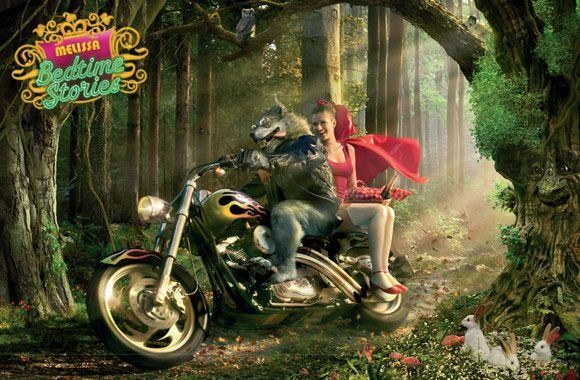 25 Creative Ads Inspired by Fairy Tales