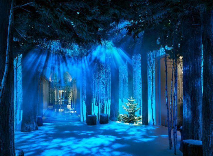 Zien: Claridge's Londen is omgetoverd tot Winter Wonderland