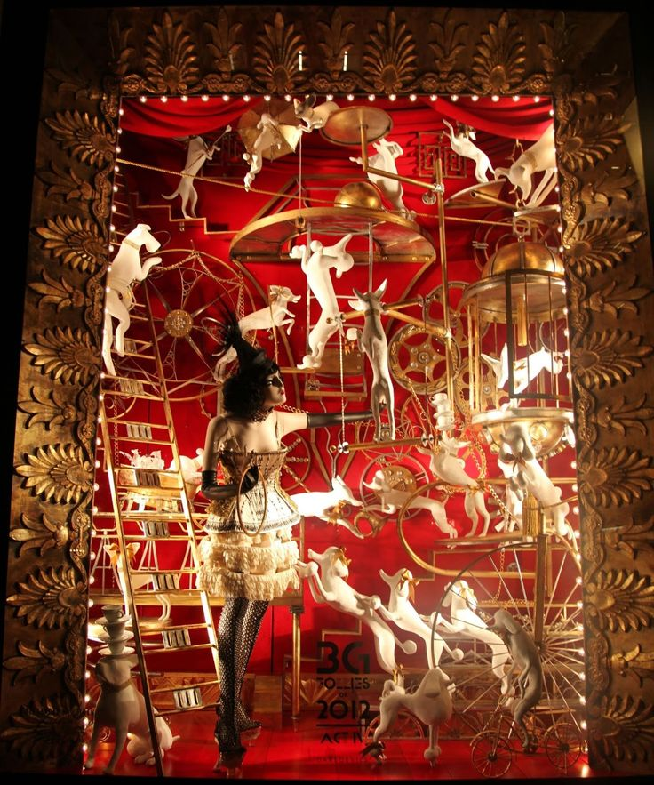 Show-stopper! | Habitually Chic®: Bergdorf Goodman Holiday Windows 2012