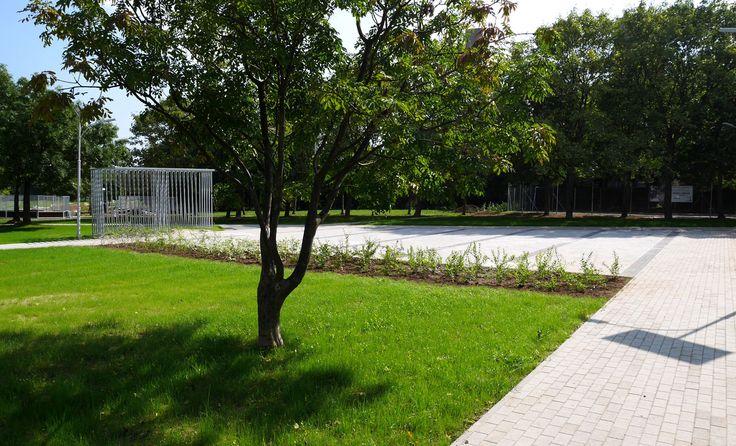 RENEWAL OF THE CALVIN PARK / Location: Veszprém / Veszprém H-8200 Hungary / Planning: 2013 / Completed: 2014 / Project area: 10.000 sqm