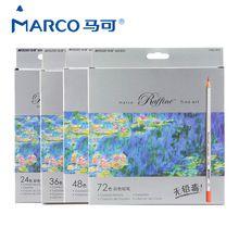 Marco Raffine Fine Art lapis de cor 72 Kleuren Tekening Potloden Tekening Schetsen Mitsubishi Schoolbenodigdheden Secret Garde Potlood(China (Mainland))