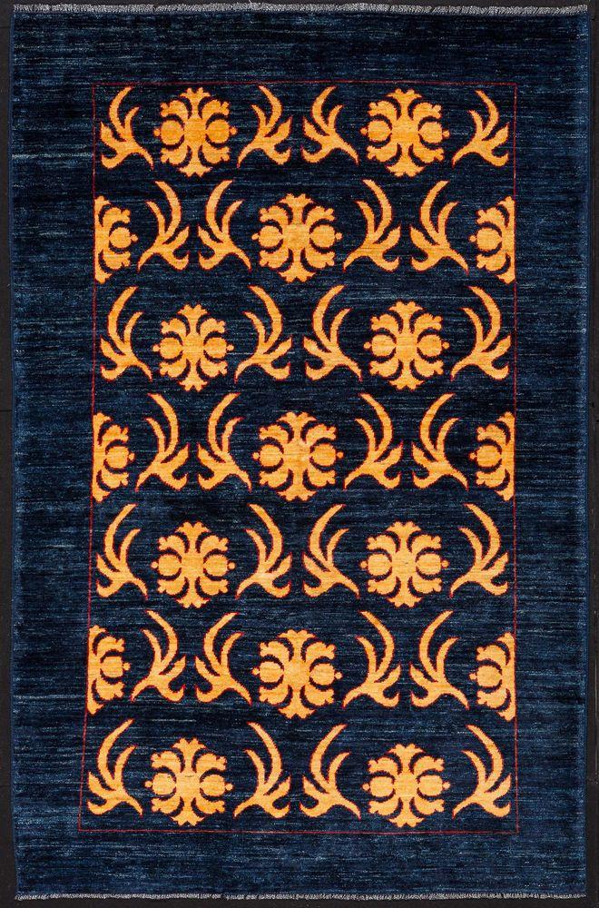 TAPPETO PERSIANO GABBEH GOLD NODO FINE ANNODATO A MANO cm. 232 x 152 | eBay