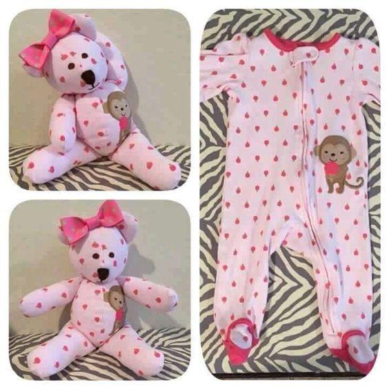 Little Bear made from favorite baby sleeper