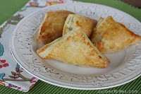 Creamy Chicken Pastry Pockets  ***total score!!!  Made these regular size and mini for L. Will make again for sure***