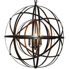 Noir Lighting Alchemy Chandelier NOILAMP353