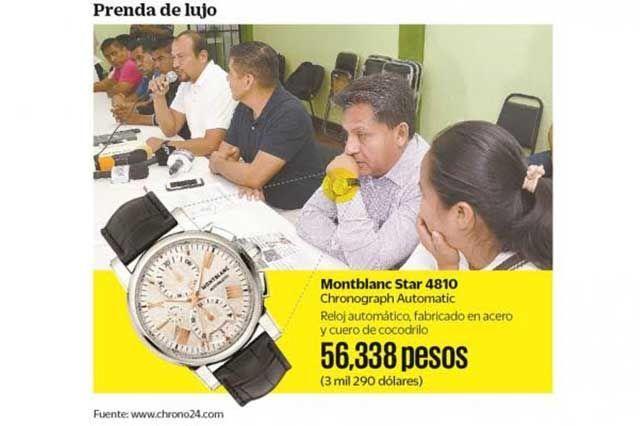 m.e-consulta.com | Líder magisterial de Oaxaca luce reloj de 56 mil 338 pesos | Periódico Digital de Noticias de Puebla | México 2015