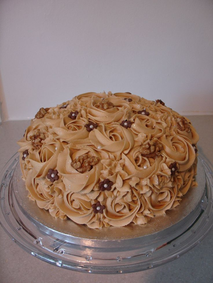 (Jul 2013) Coffee & Walnut Cake