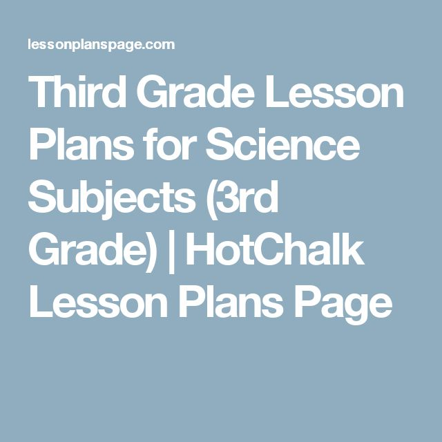1000 Images About Third Grade Science Lesson Ideas On