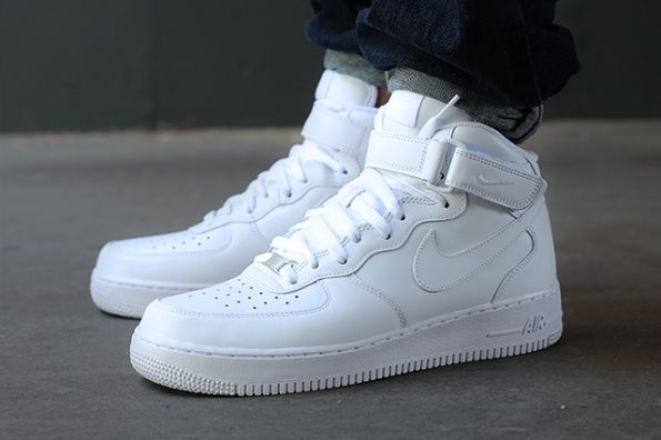 tenis nike blancos air force