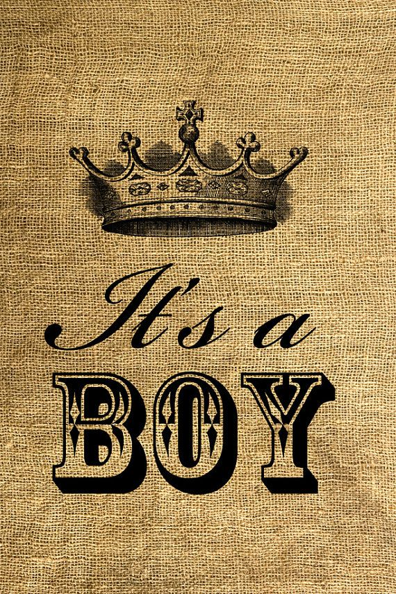 INSTANT DOWNLOAD It's a Boy Download and Print Image by room29 - Congratulations Prince William and Kate - Duke and Duchess of Cambridge, It's a BOY !!!