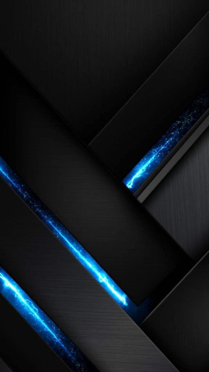 Download Abstract Wallpaper By Misia Bela E3 Free On Zedge Now Browse Milli Black And Blue Wallpaper Geometric Wallpaper Background Dark Phone Wallpapers