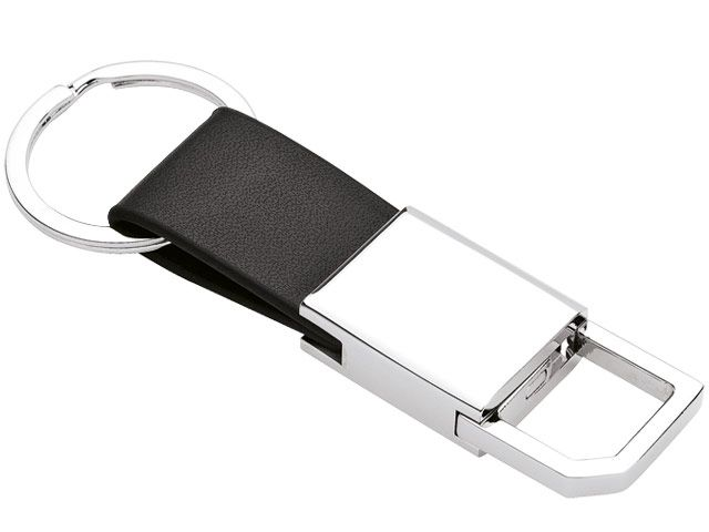 Keyring With Strap Rotating Clip And Split Ring at Miscellaneous | Ignition Marketing Corporate Gifts