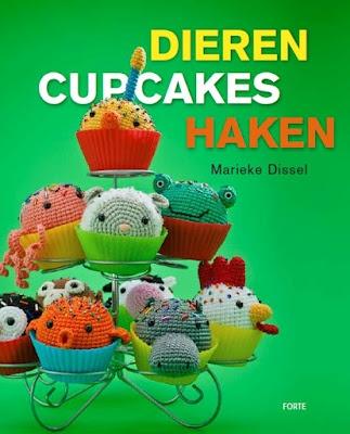 Dieren cupcakes haken, van Marieke Dissel