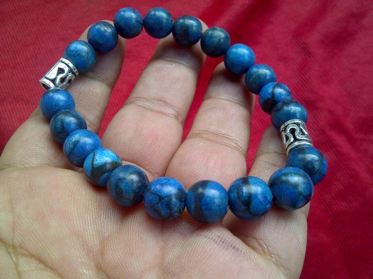Gelang blue coral kombinasi