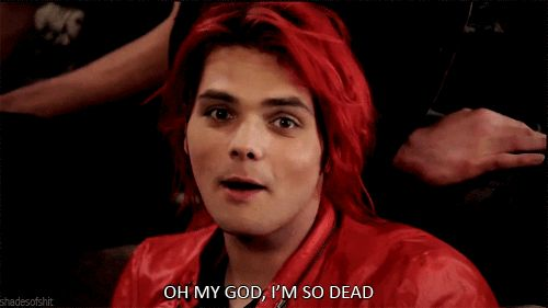 In light of the upcoming March 22 (if you don't what that is, I envy you. (two years ago on that day, My Chemical Romance broke up.)), here are a few gifs of our lord and saviour, Gerard Way.