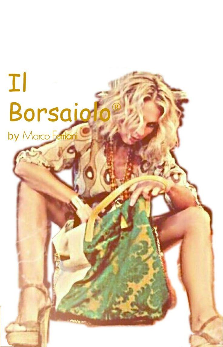 "GREEN BAG by Marco Ferriani ""Il Borsaiolo"" Spring summer 2014 www.marcoferrianiborse.net"