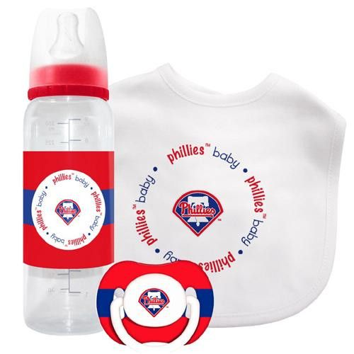 16 best boston red sox baby gifts images on pinterest boston red philadelphia phillies mlb baby gift set negle Gallery