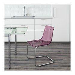 Schreibtischstuhl ikea lila  Die besten 25+ Lila stuhl Ideen auf Pinterest | Handbemalte stühle ...