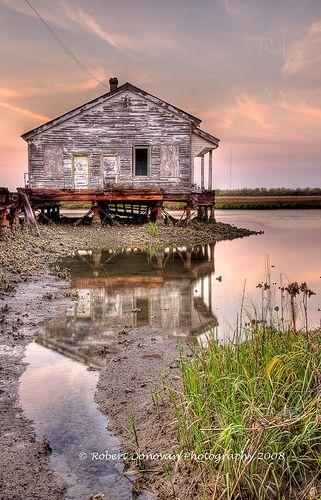 Southern Life: Dock House, Sullivan's Island, South Carolina