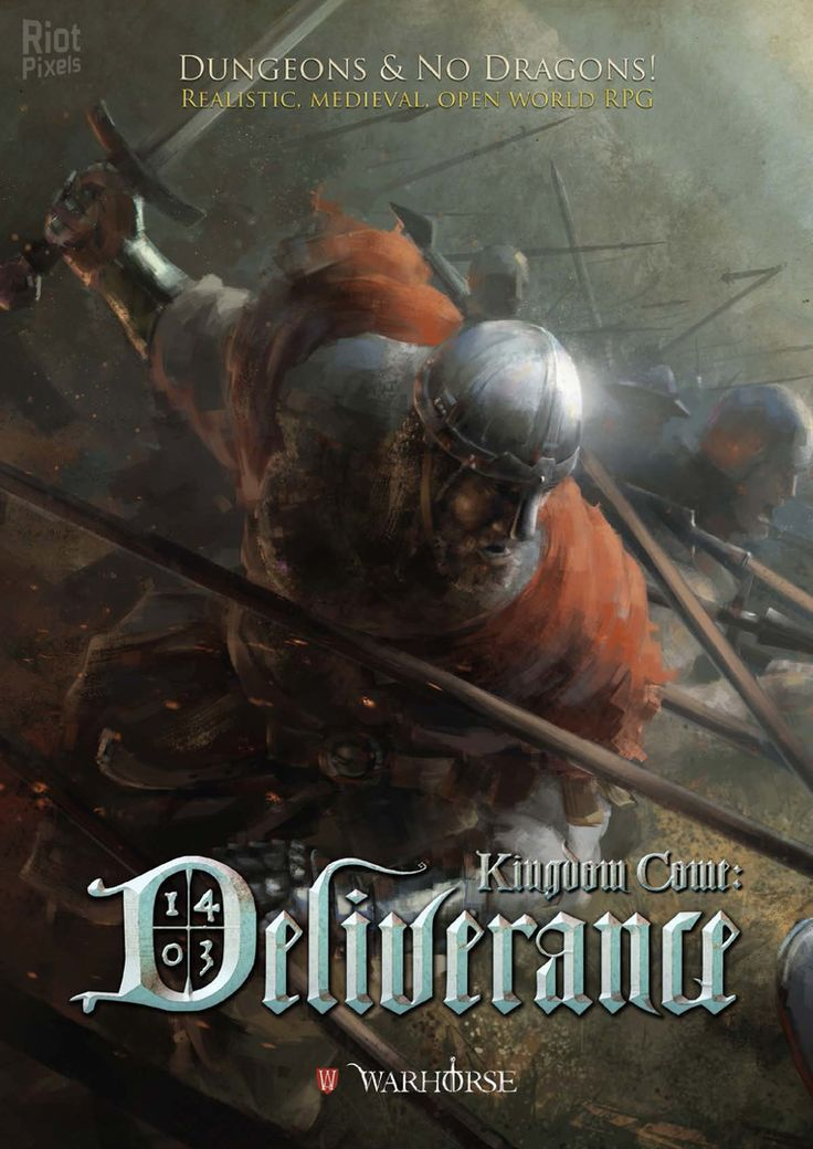Kingdom Come: Deliverance - game cover at Riot Pixels, image