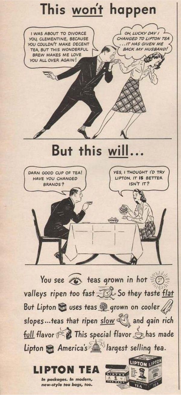 30's vintage ads.