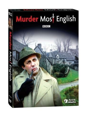 'Murder Most English' (1977) BBC  mysteries based on the darkly humorous Flaxborough Chronicles of English author Colin Watson. Four of his mysteries with the low-key yet dogged Detective Inspector Purbright, who, along with sunny Detective Sergeant Love, politely pick their way through the surface conventions and niceties of the English small town to discover the origins of the far more curious world that exists beneath the quaint facade. A good one for mystery fans!
